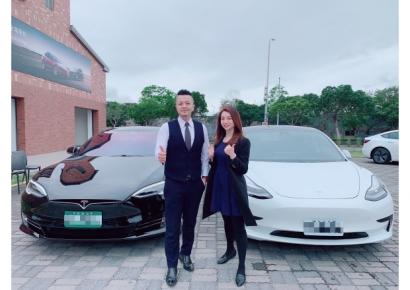 入主Tesla交車儀式